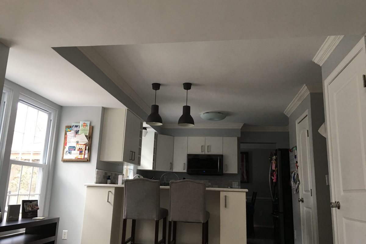 Remove Texture Ceiling